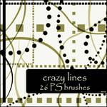 crazy lines brushes by szuia