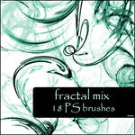fractal mix brushes