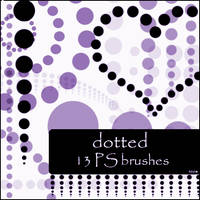 dotted brushes by szuia