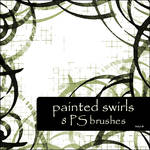 painted swirls brushes