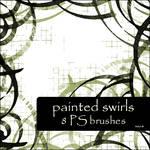 painted swirls brushes