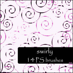 swirly brushes by szuia