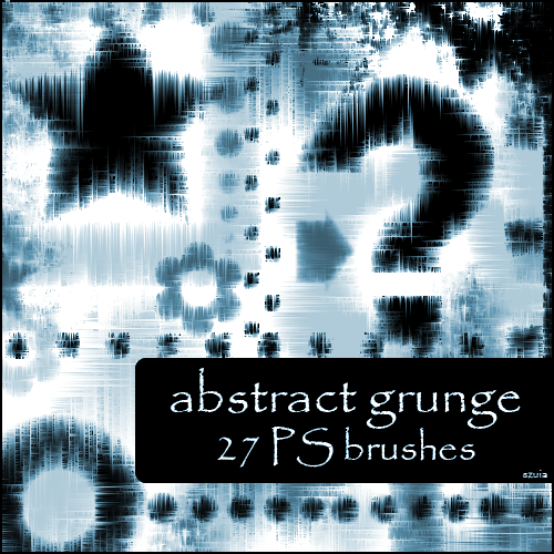 abstract grunge brushes by szuia