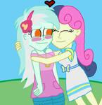 Lyra Loves Sweetie Drops' Hugs by kTd1993