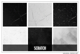 Scratch Icon Textures by animepapers