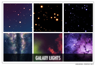 Galaxy Light Icon Textures by animepapers