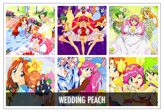 Wedding Peach Anime Icon Bases by animepapers