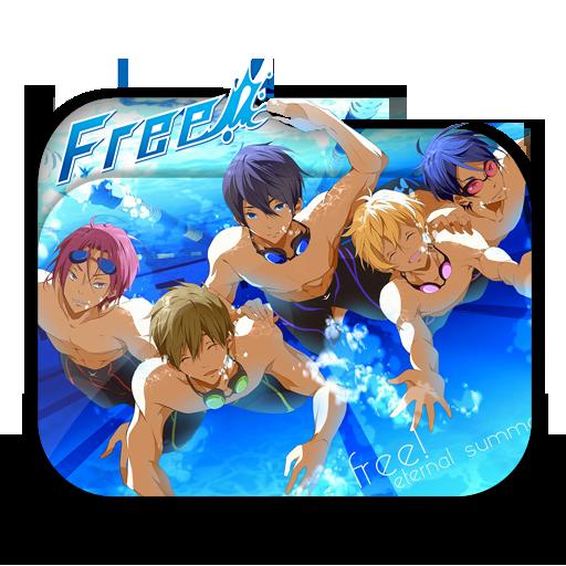 Anime Free! Eternal Summer Folder Icon By Minacsky-saya On