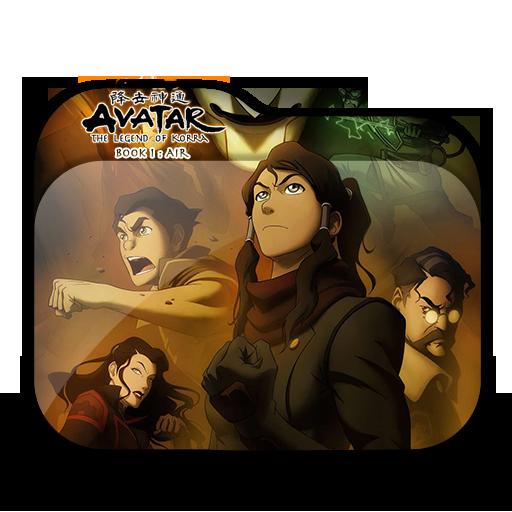 Avatar Book 2: Avatar The Legend Of Korra Book 1 Folder Icon By Minacsky