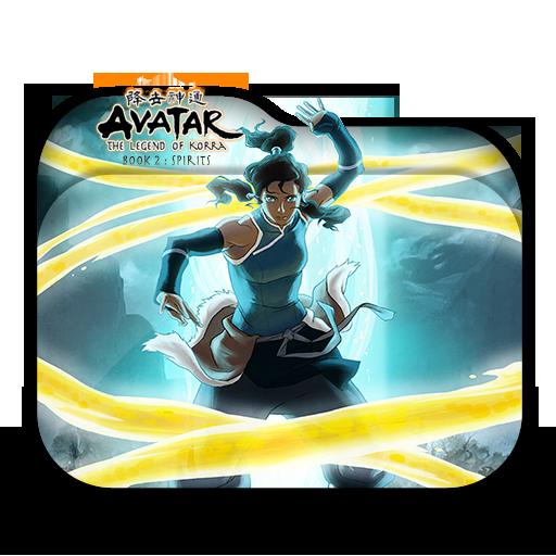Avatar Book 2: Avatar The Legend Of Korra Book 2 Folder Icon By Minacsky