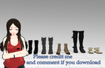 Shoes pack [MMD] [DL]