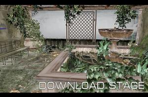 Mansion Conservatory Stage [MMD] [DL] by Deiroko