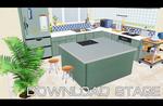 Kitchen scenery [MMD] [DL]