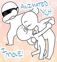 (CLOSED) Animeated YCH: DAB + DIP SMOOCH -