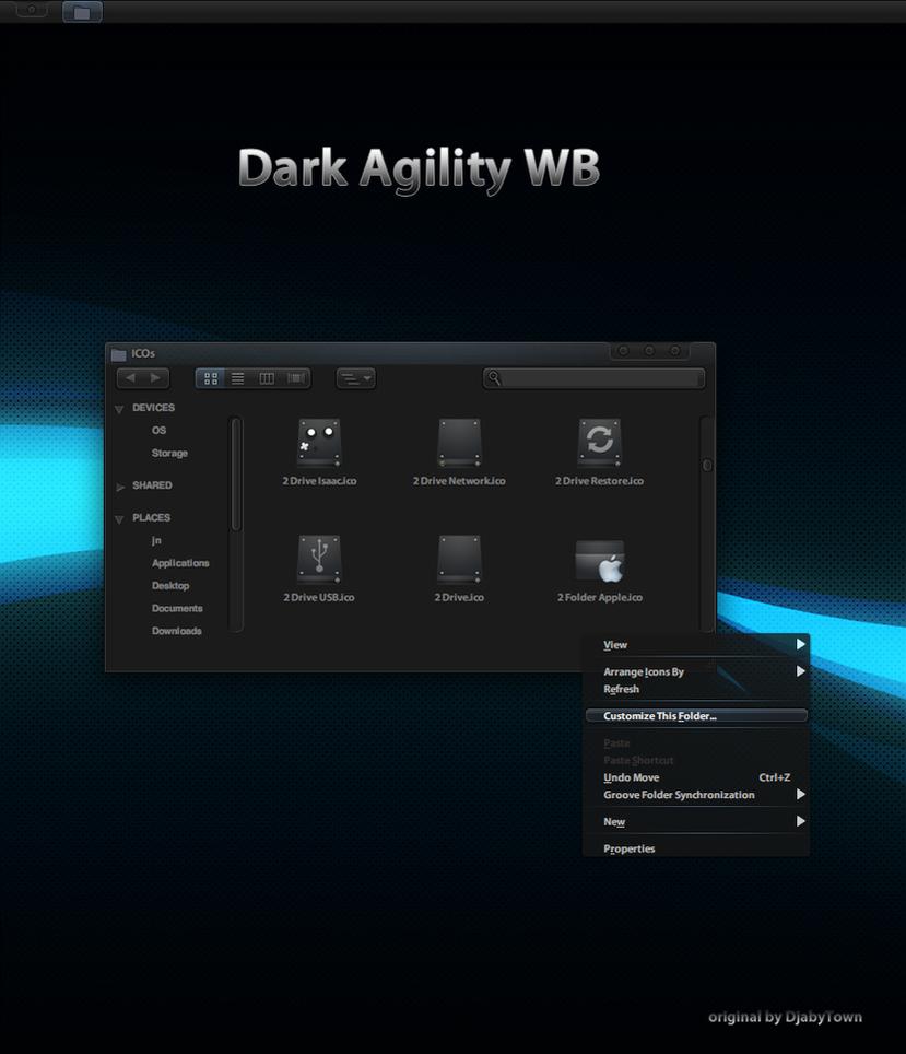 Dark Agility WB by nardoxic