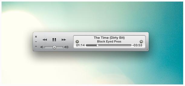 iTunes Mini mnml for CAD