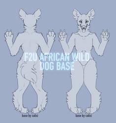 F2U African Wild Dog Base