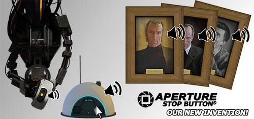 [ENG] Aperture Science Rainmeter Skin Pack 1.1.2 by garwert