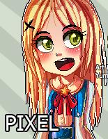 Pixel comision - imhappywithyou by Yumoe
