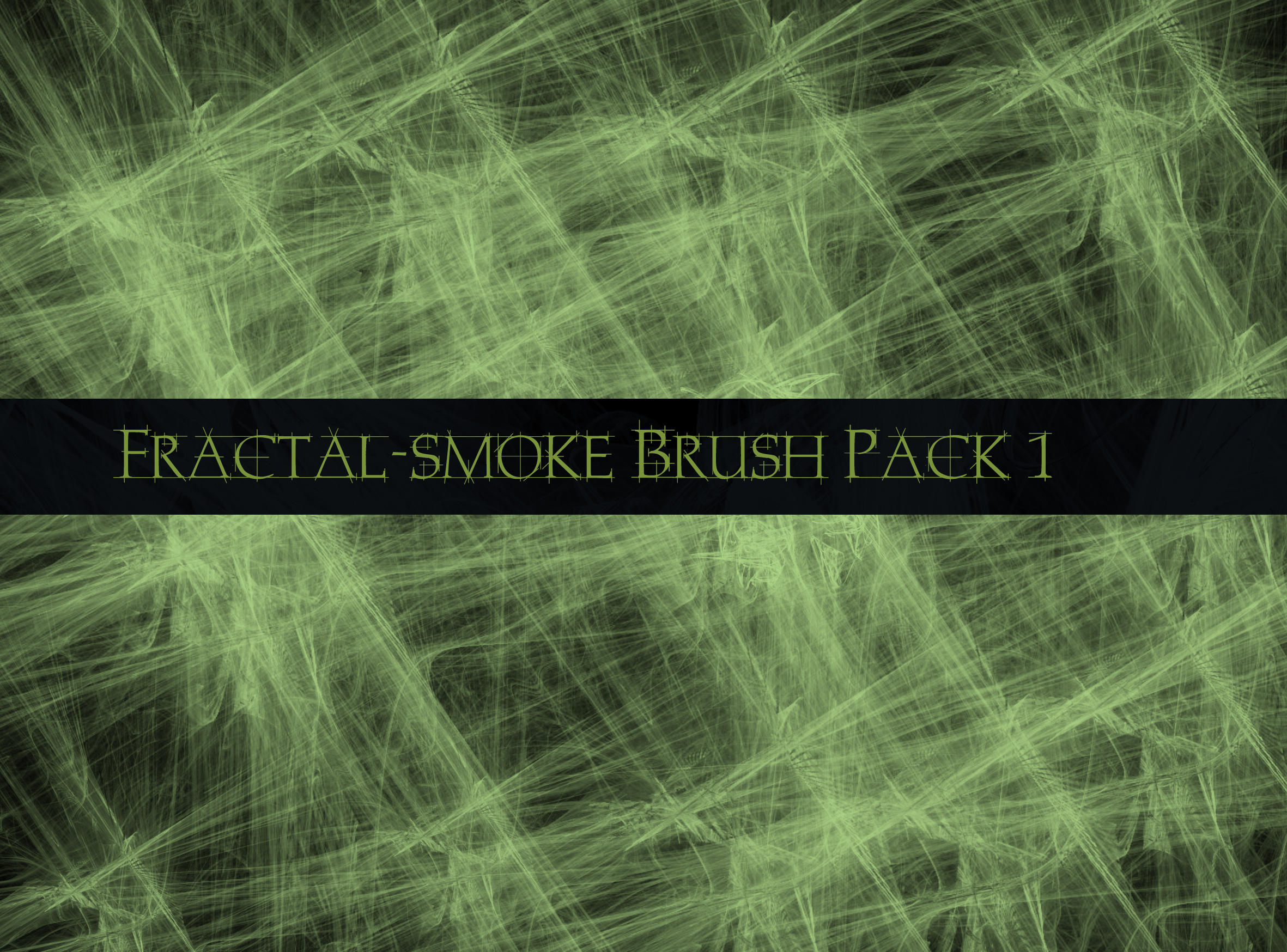 Fractal Smoke Brush Pack1 by The-Average-Alex