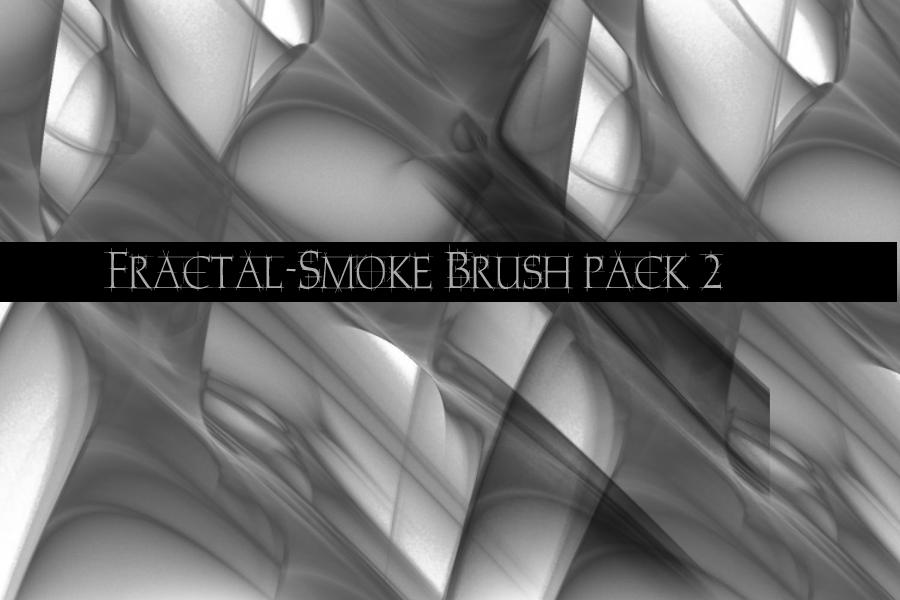 Fractal Smoke Brush Pack2