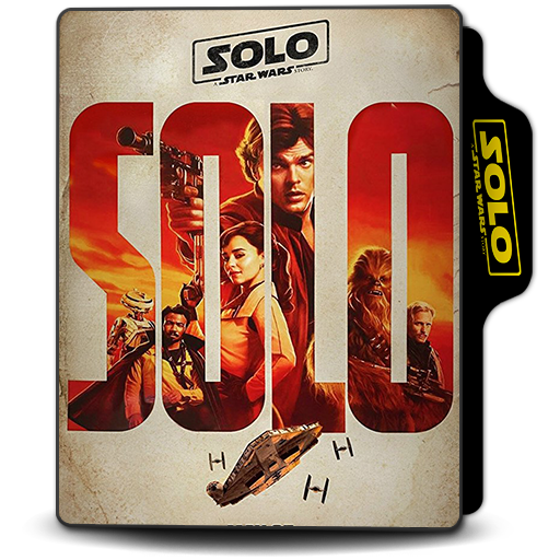 Solo A Star Wars Story 2018 Folder Icon 4 By Van1518 On Deviantart