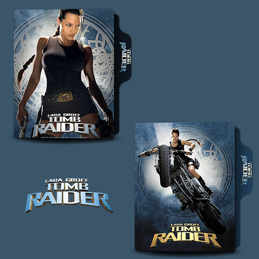 Lara Croft Tomb Raider 2001 Folder Icon By Van1518 On Deviantart