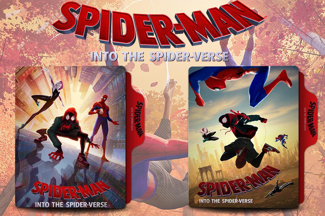 Spider Man Into The Spider Verse 2018 Folder By Van1518 On Deviantart