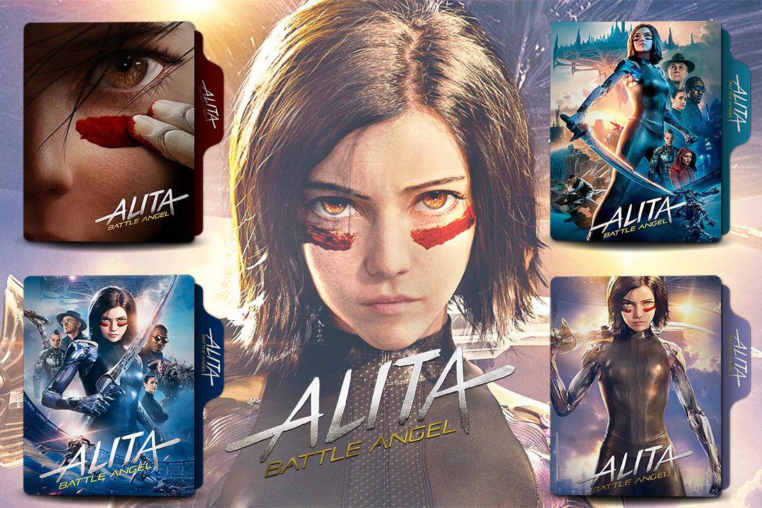 Alita Battle Angel 2019 Folder Icon By Van1518 On Deviantart