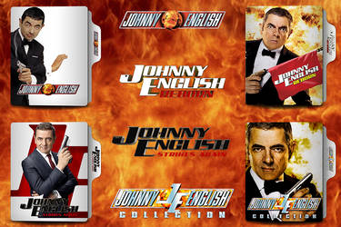Johnny English Collection Folder Icon by van1518