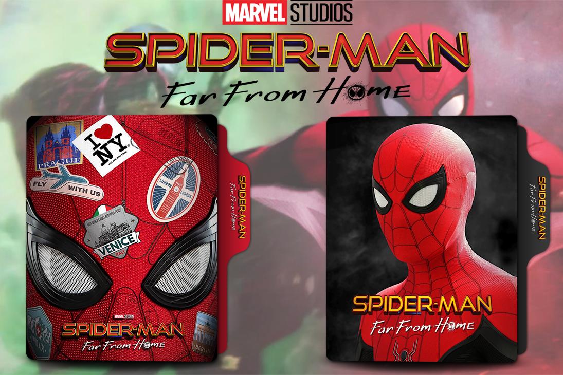 Spider Man Far From Home 2019 Folder Icon By Van1518 On Deviantart