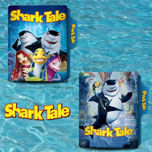 Shark Tale 2004 Folder Icon By Van1518 On Deviantart