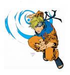 Naruto inks flats