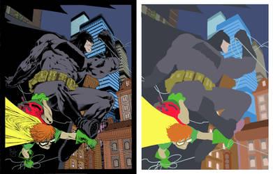 Dark Knight By Paulosiqueira flats