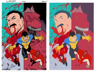 Invincible Not Real Cover By Joeyvazquez Flats
