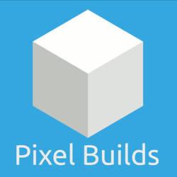 Pixel Builds Logo Design