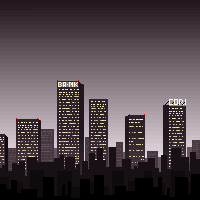 Pixel-Skyline by Quest-in-a-bottle