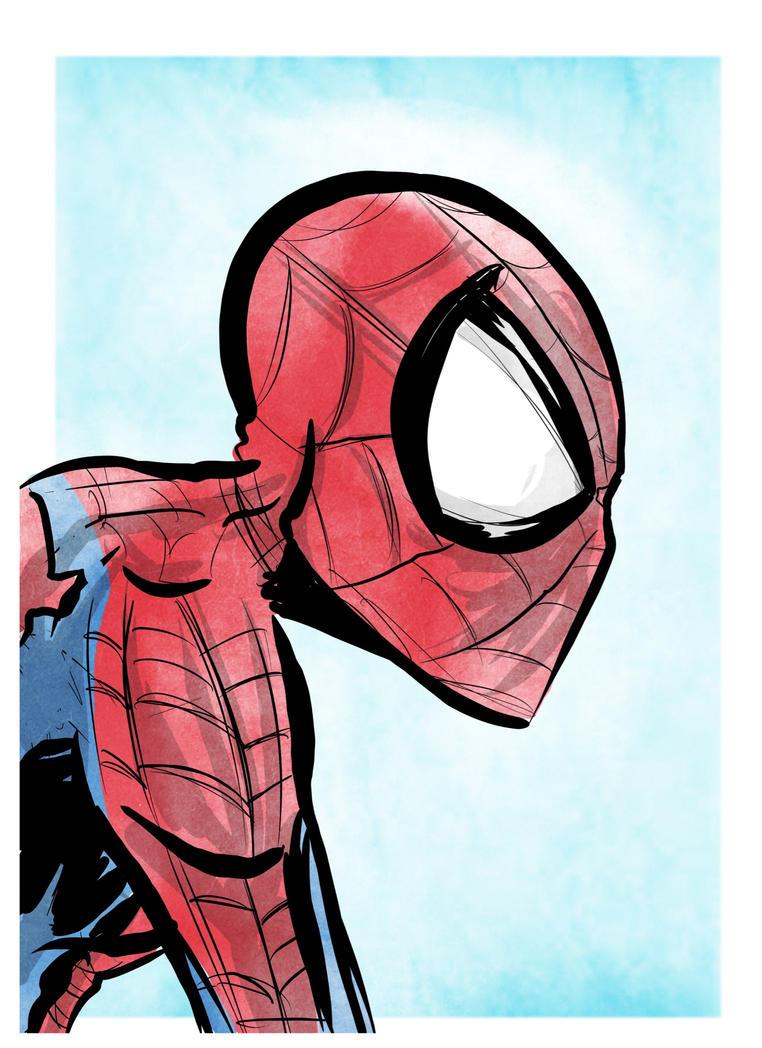 Spider-Quickie by Honez