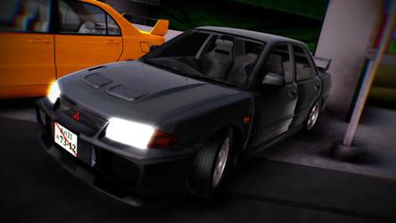 [MMD]Mitsubishi Motors - Lancer Evo III DL! by MGZweiis