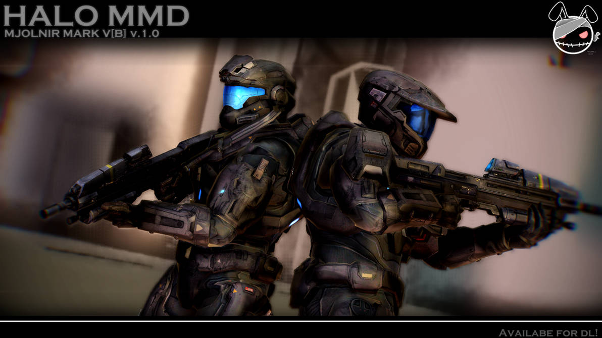 UP FOR DL! [Halo/MMD] Mjolnir Mark V[B] by MGZweiis on