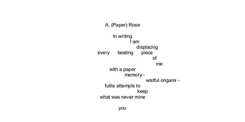 A. (Paper) Rose by DogmaticKerr