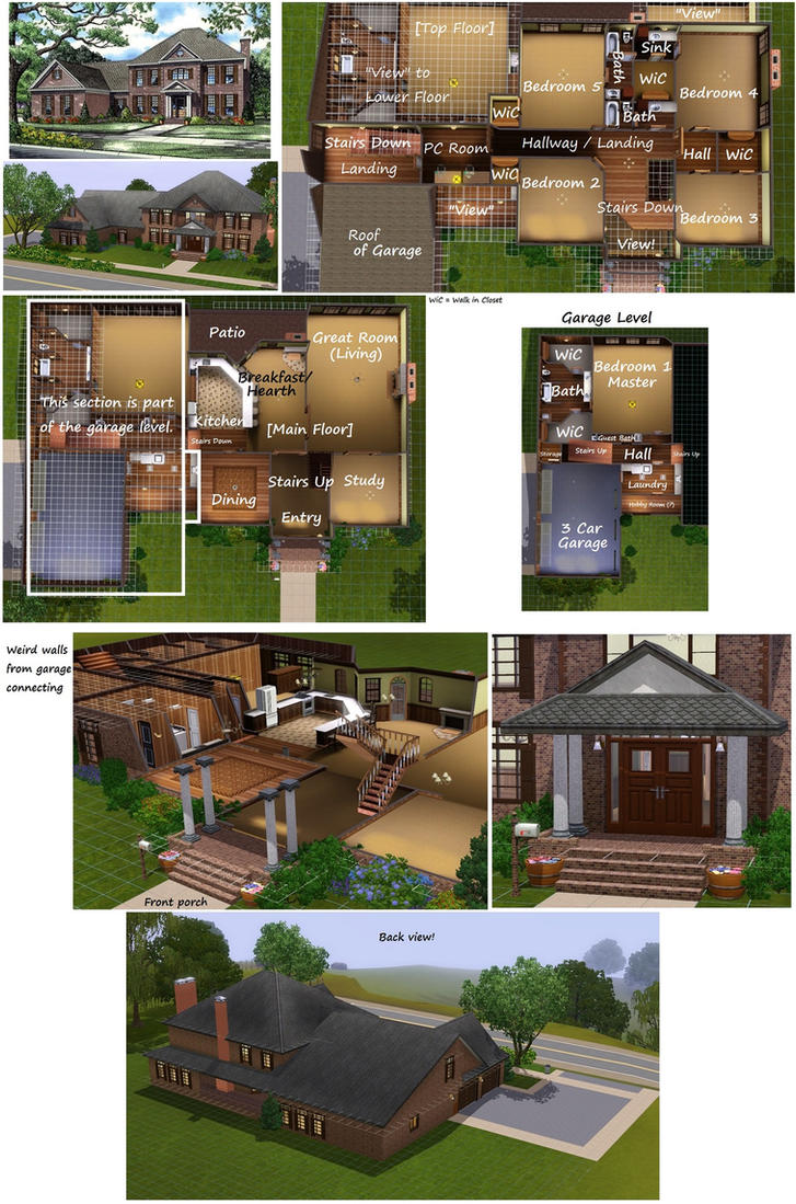 Sims 3 Bedroom Sims 3 Plantation House 82126 Unfurnished By Pinkythepink On