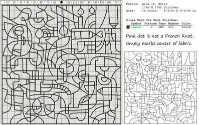 DeviantArt 16th Birthday Pattern (Large)