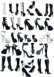 High Heels Brushes CS3