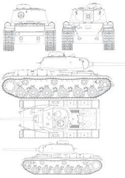 Russian KV85B Tank Brush CS3