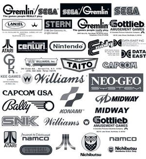 Arcade Logos Brush CS3