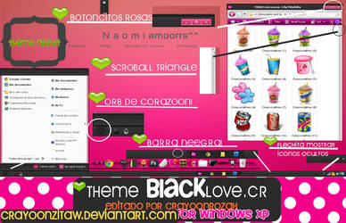 ThemeBlackLove For windows XP EDiTDED BY ME by CrayoonzitAw
