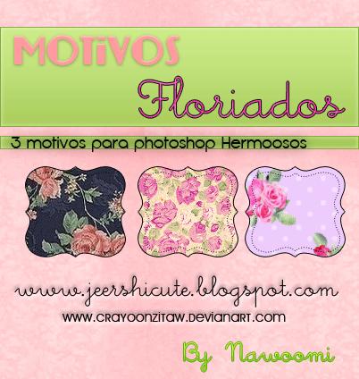 Motivos Floriados by CrayoonzitAw