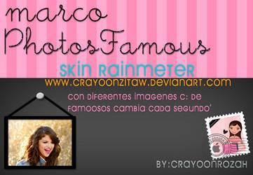 Rainmeter PhotoFamoous by CrayoonzitAw