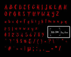 NEARLY_Ruby Gloom Fonts_